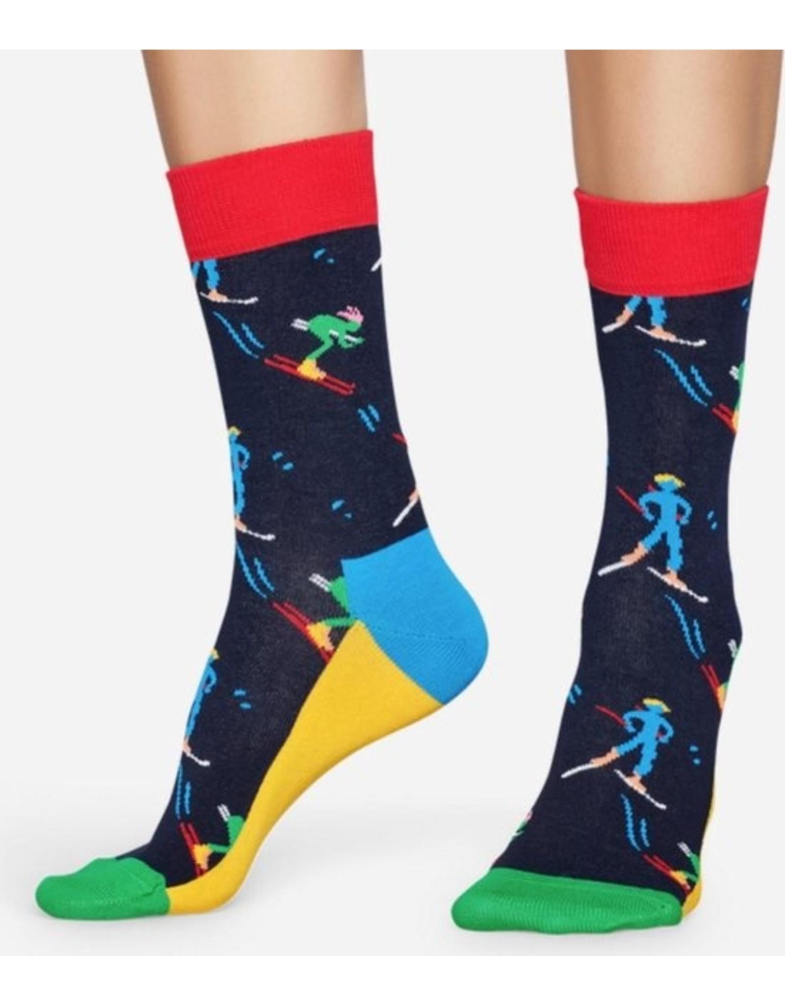 Happy Socks MAAT 36/40 + MAAT 41/46 - Sokken met skiërs