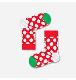 Happy Socks Kindersokken met kerstmannen