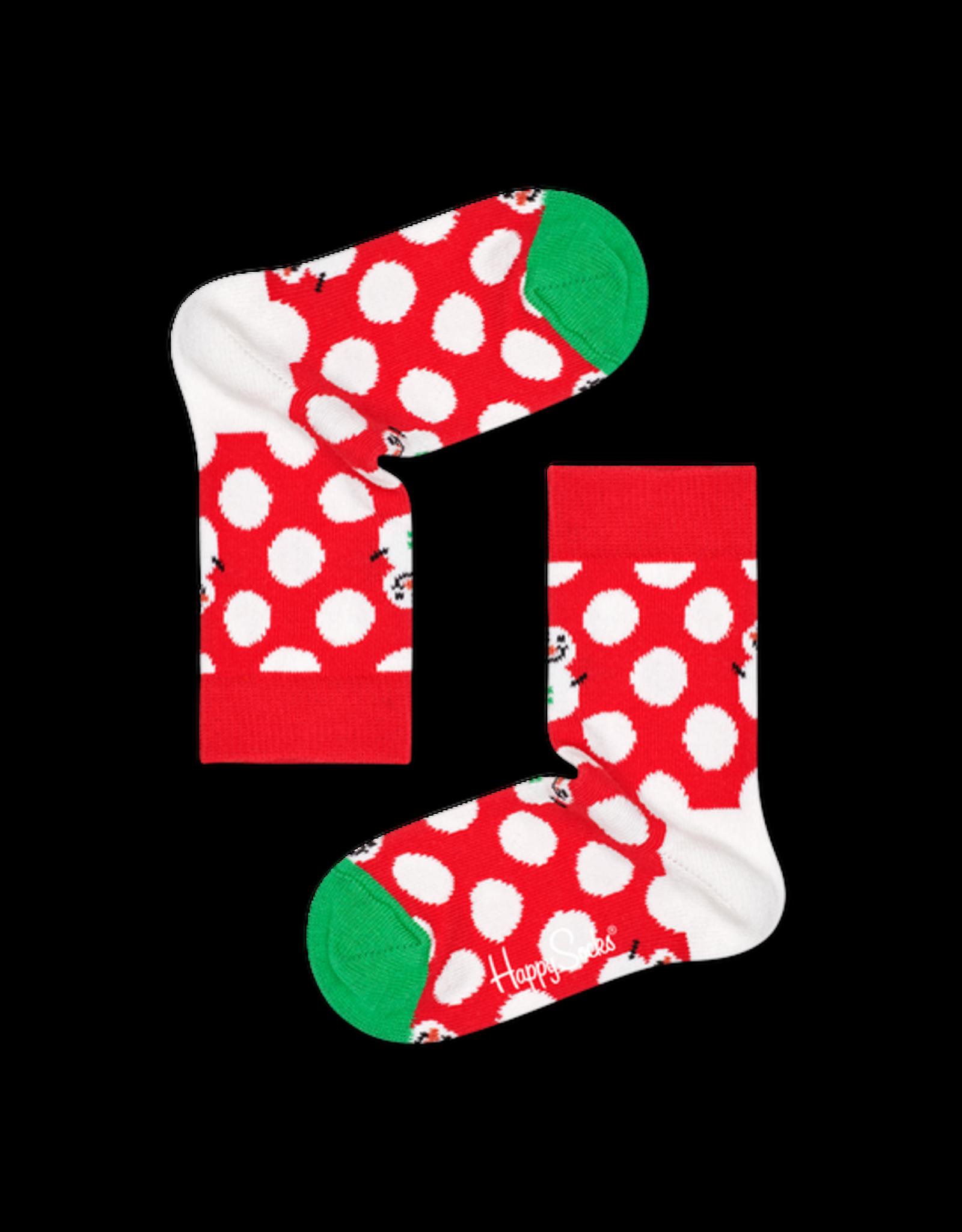 Happy Socks Geschenkdoosje in piramide met kerst kindersokken