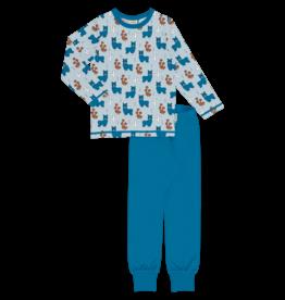 Meyadey Pyjama met schattige alpaca's