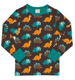 Maxomorra T-shirt met liefelijke dino's