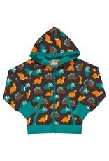Maxomorra Hoodie trui met vriendelijke dinosaurussen