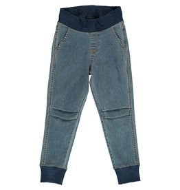 Maxomorra MEDIUM LIGHT WASH Pants Jogger Denim