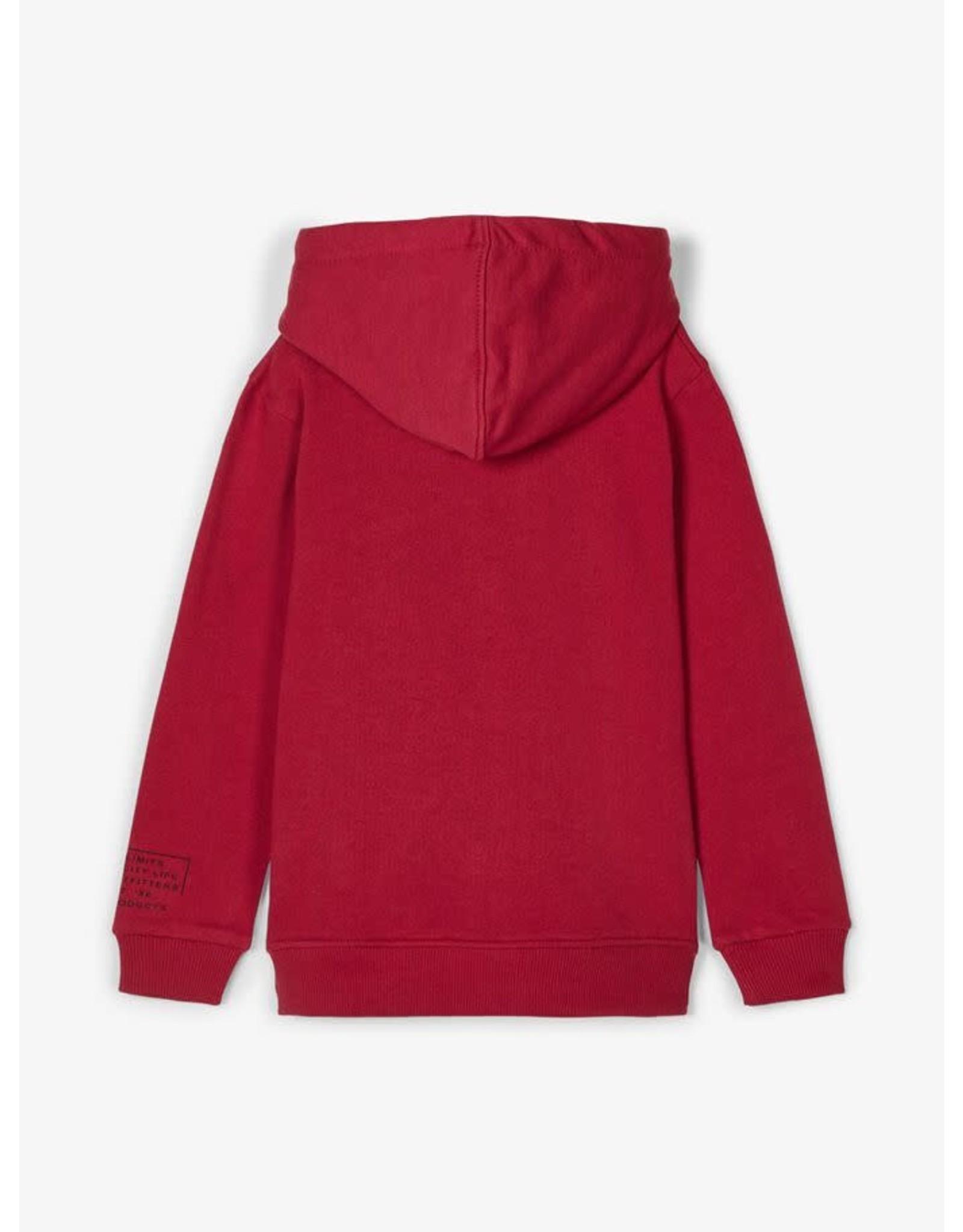 Name It Rode warme hoodie trui