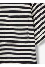 Name It Zwart wit gestreepte t-shirt uit bio katoen