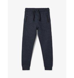 Name It Zachte jogging broek gemeleerd blauw