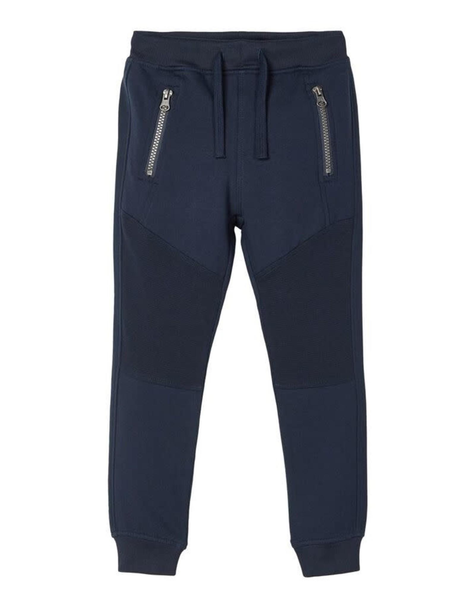 Name It Blauwe jogging broek voor de kleine jongens