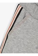 Name It Grijze meisjes jogging broek met zijstreep