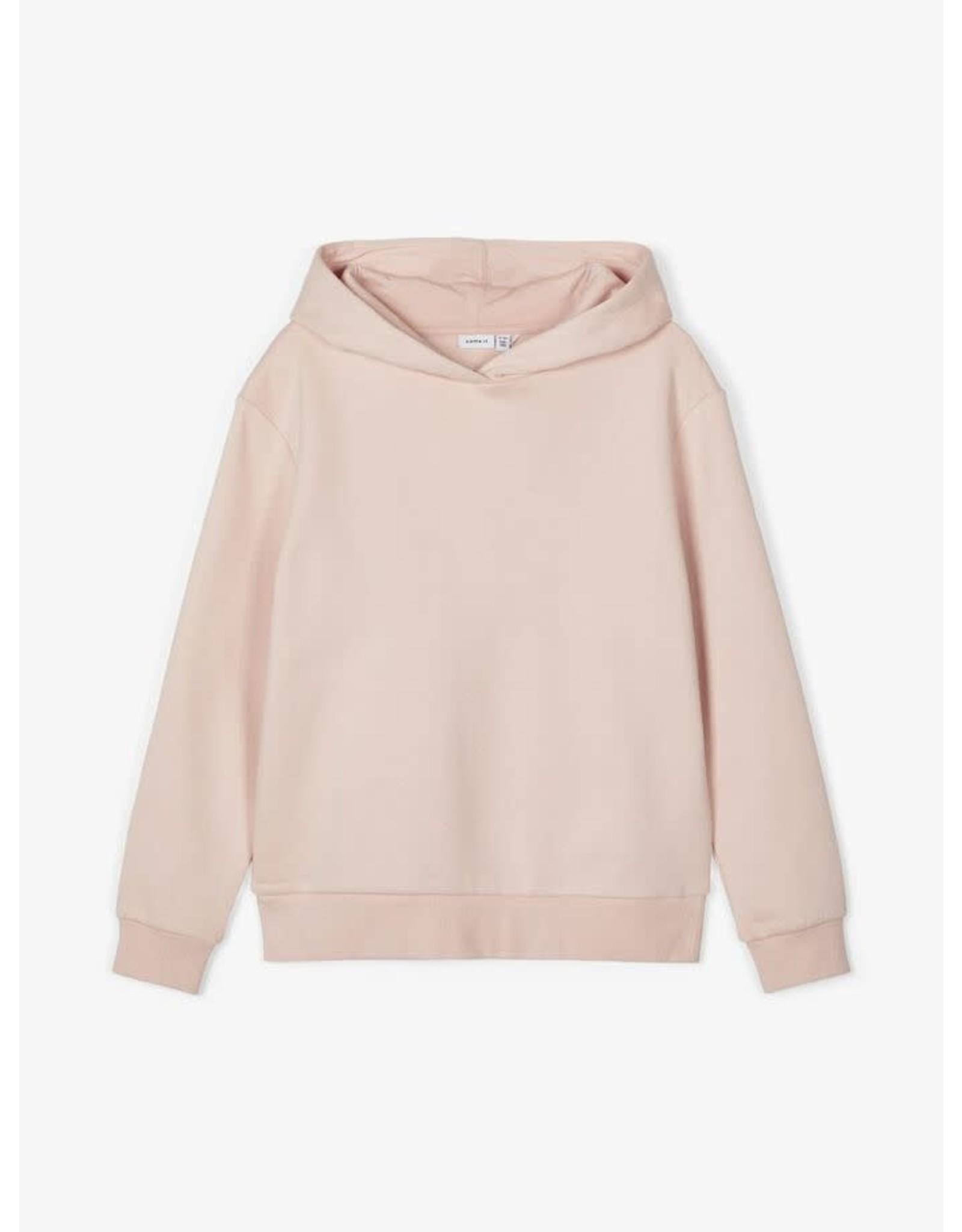 Name It Zacht roze warme meisjes hoodie - LAATSTE MAAT 116
