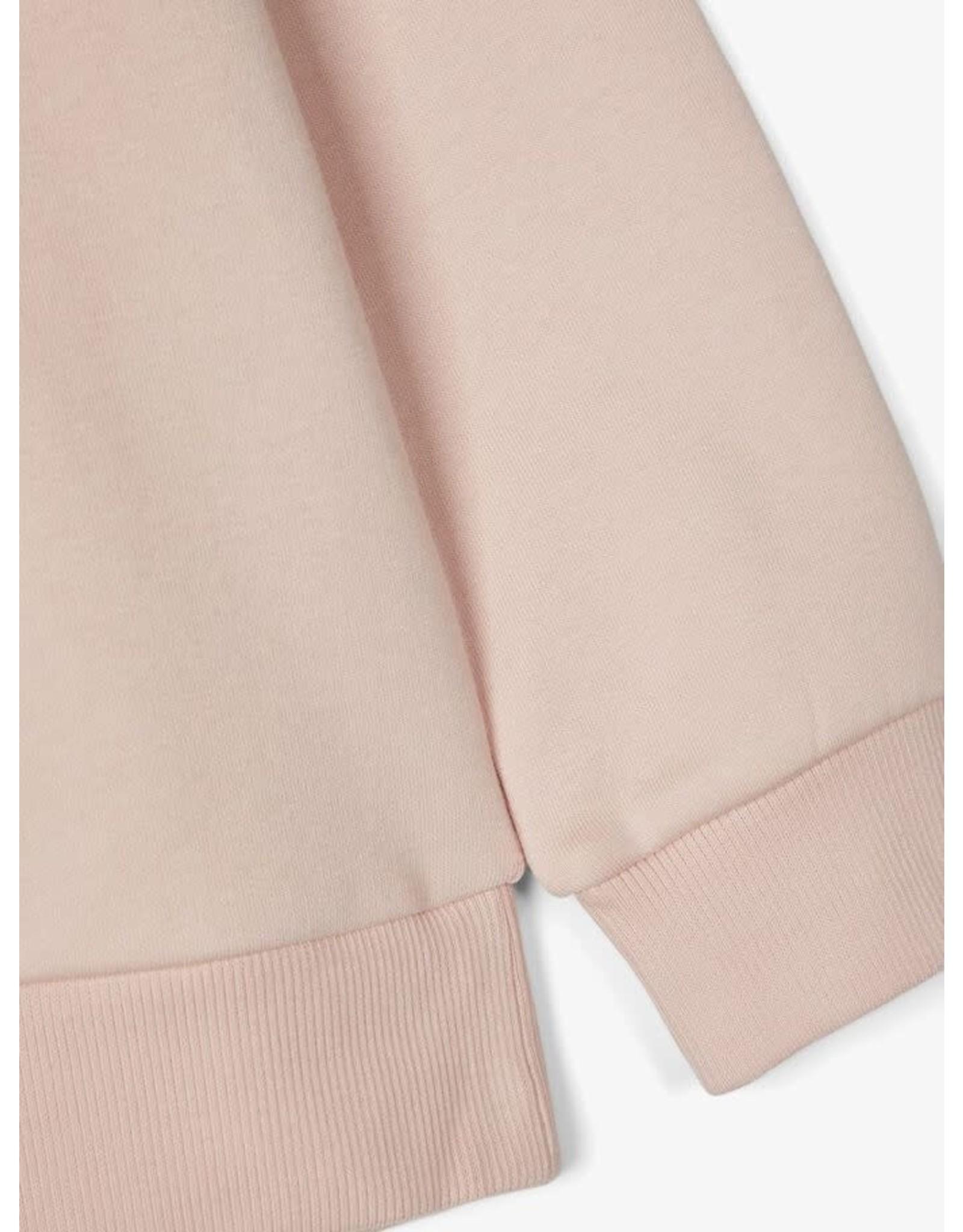 Name It Zacht roze warme meisjes hoodie