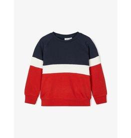 Name It Coole colourblock trui (maat 116 tot en met 164)