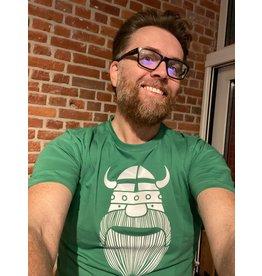 Danefae VOLWASSENEN T-shirt Groen met viking Erik