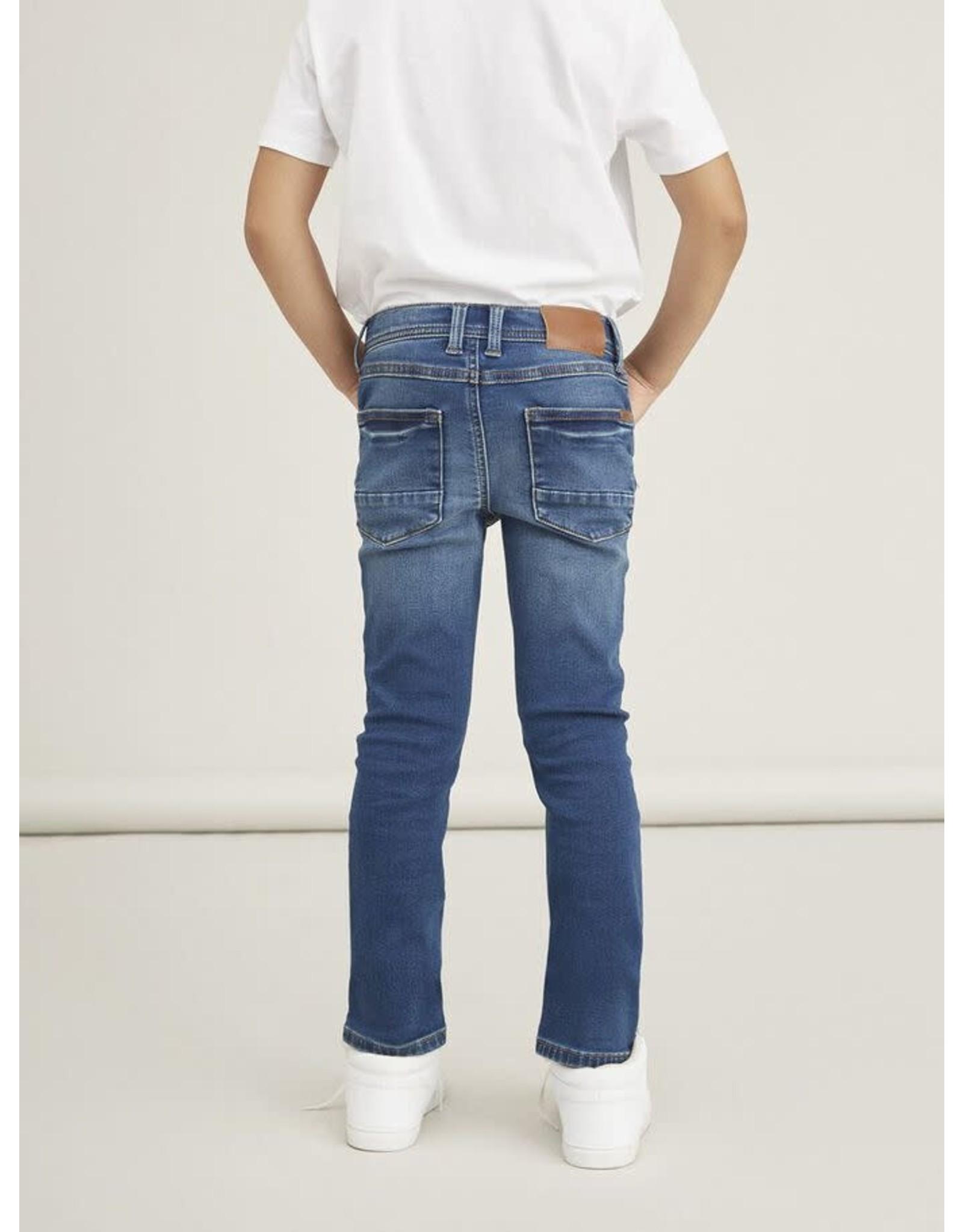 Name It Zachte sweat denim x-slim fit jeans