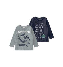 Name It 2-pack leuke t-shirts