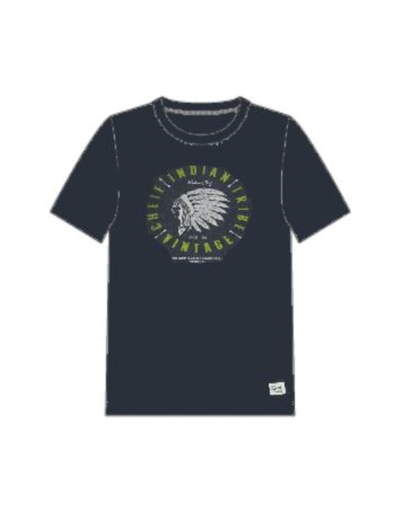 Name It Donkerblauwe bedrukte t-shirt
