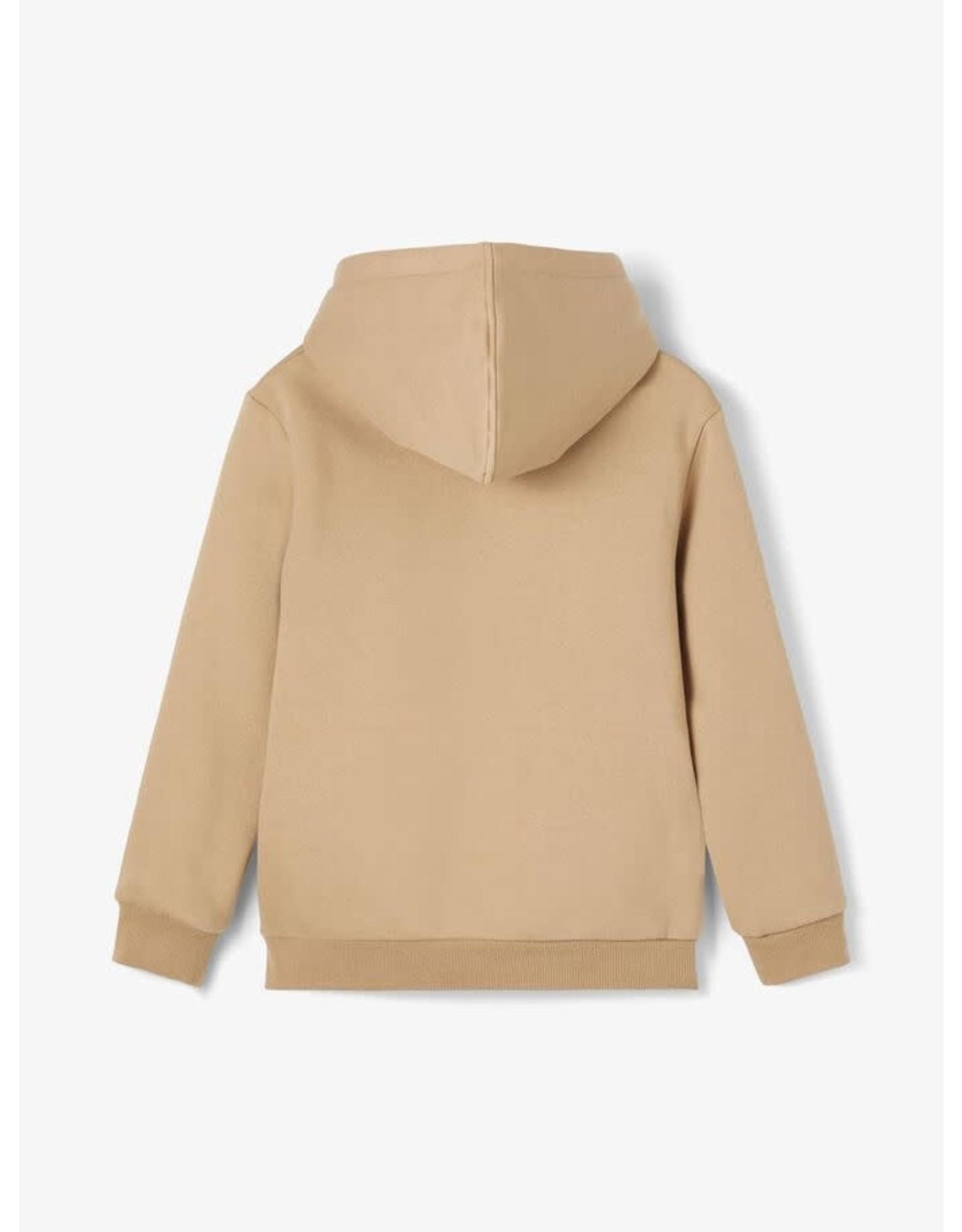 Name It Coole licht bruine warme hoodie