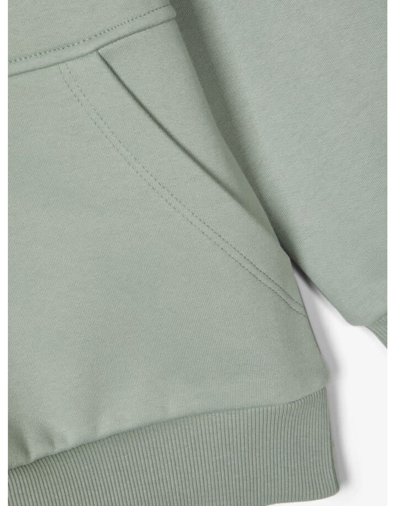 Name It Licht groene zachte en warme hoodie trui