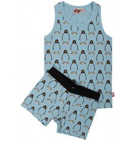 Dyr Blauw ondergoed setje jongens met pinguins