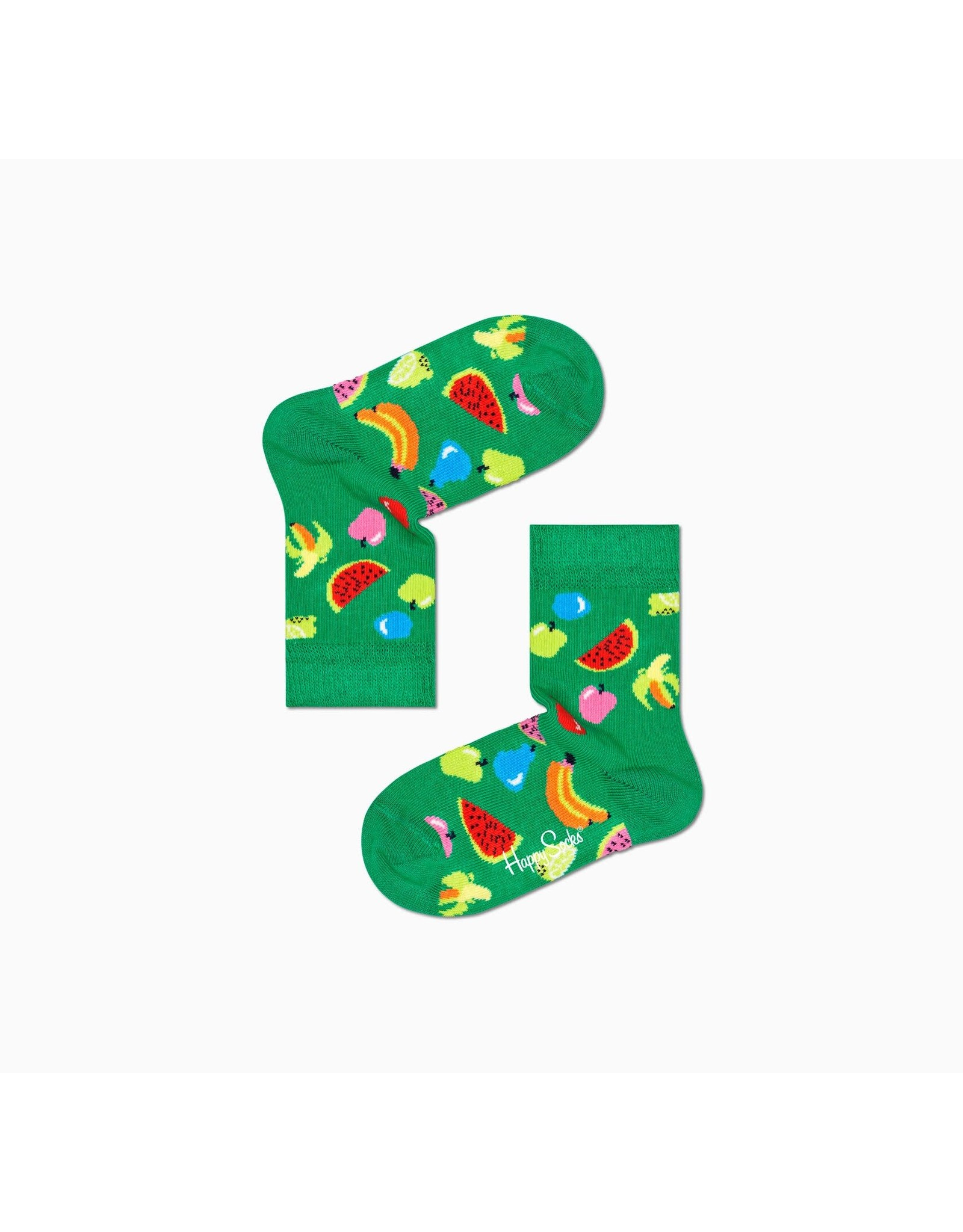 Happy Socks Kindersokken met fruitprint
