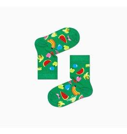 Happy Socks Kindersokken met fruitprint