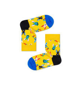 Happy Socks Kindersokken met paashazen
