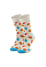 Happy Socks MAAT 36/40 - Hamburger sokken