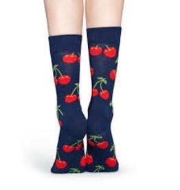 Happy Socks MAAT 36/40 - Sokken met kersenprint