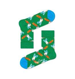Happy Socks MAAT 36/40 - Halflange sokken met vuurspuwende konijnen