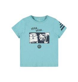Name It Aqua blauwe Volkswagen t-shirt
