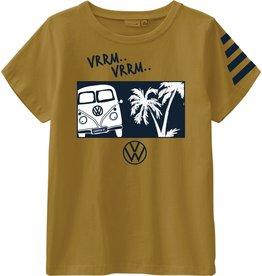 Name It Geelbruine Volkswagen t-shirt