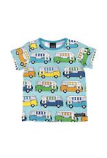 Villervalla Blauwe t-shirt met ijskarretjes