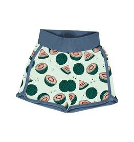 Meyadey Short met watermeloenen print