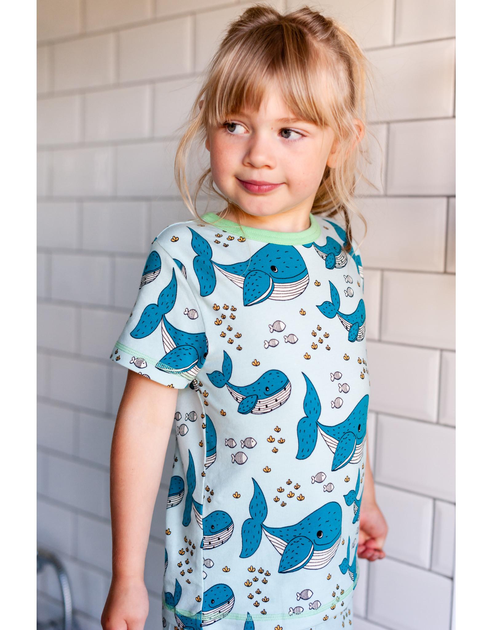 Meyadey T-shirt met walvissen