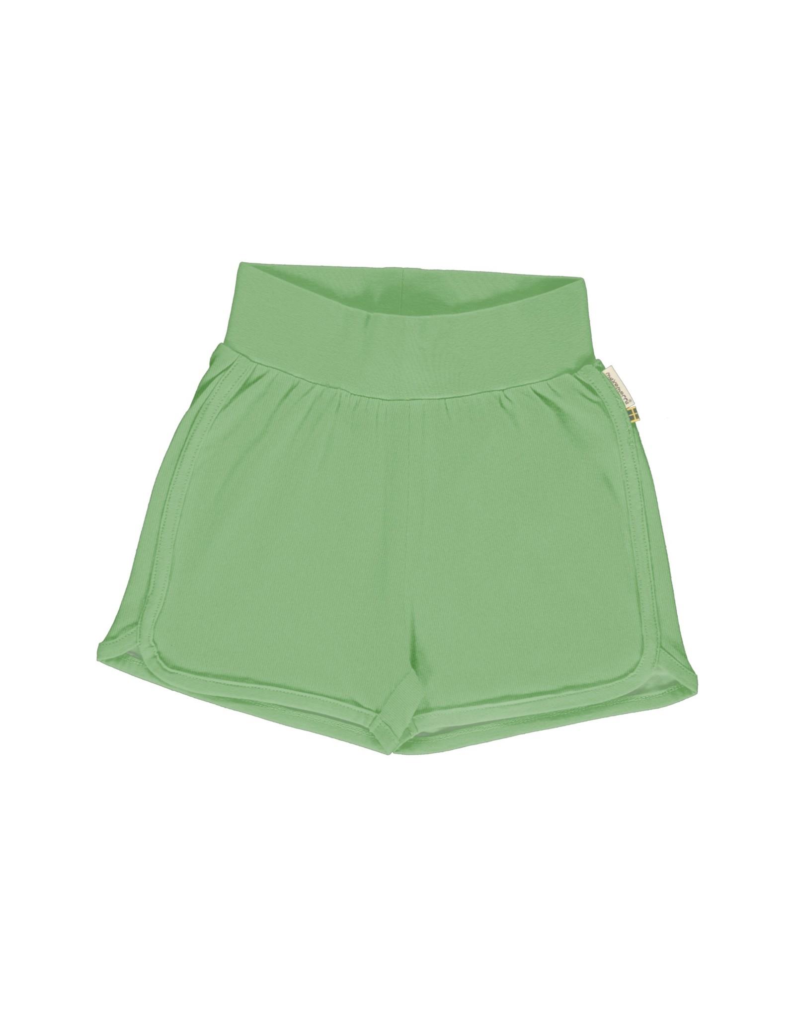 Meyadey Comfortabele groene short