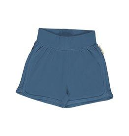 Meyadey Comfortabele blauwe short