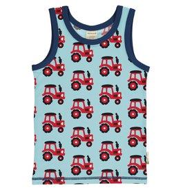 Maxomorra Topje met tractor print