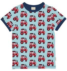 Maxomorra T-shirt met tractor print