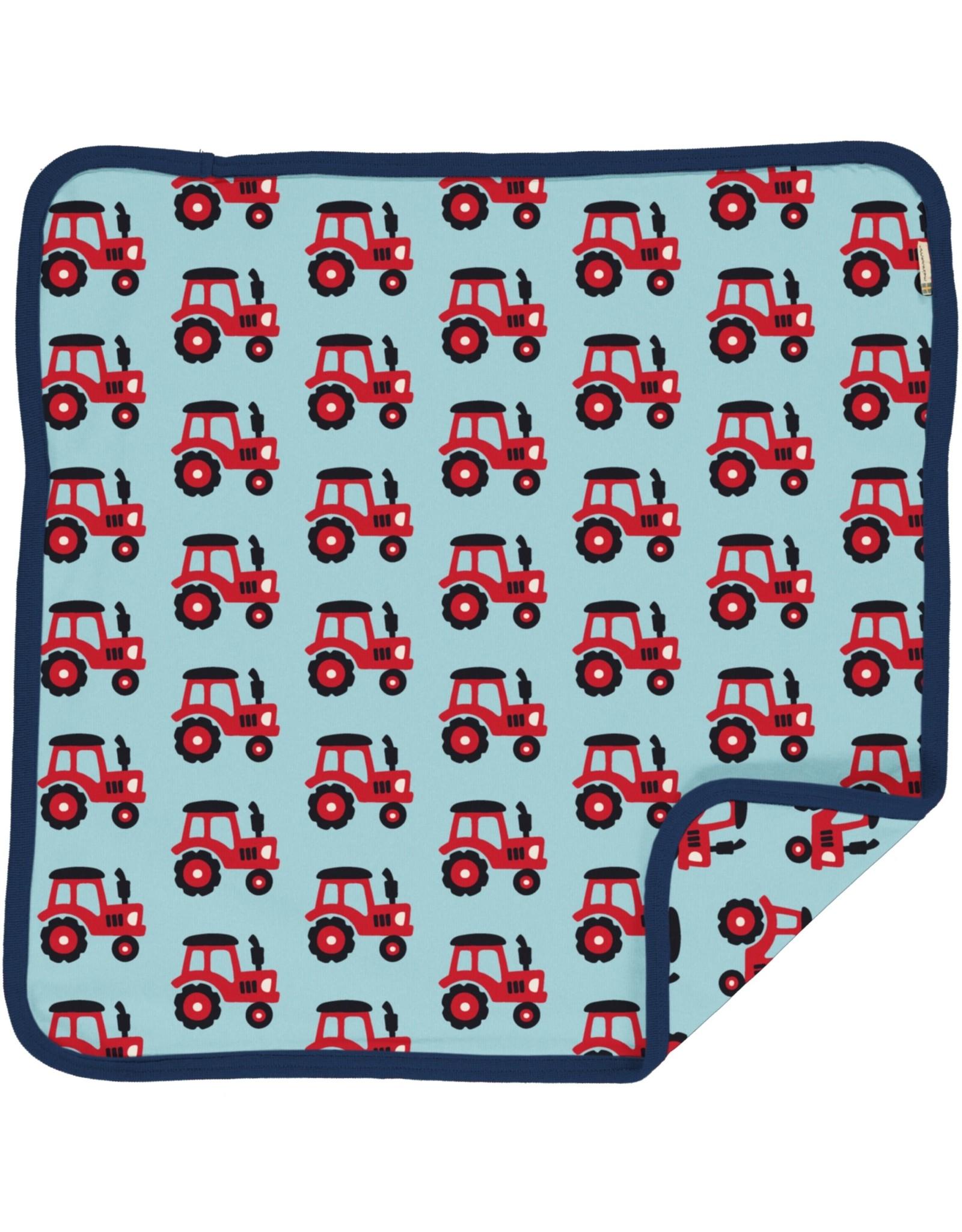 Maxomorra Kussensloop met tractor print