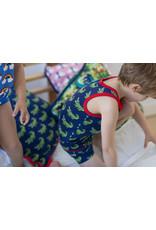 Maxomorra Mouwloze t-shirt met krokodillenprint