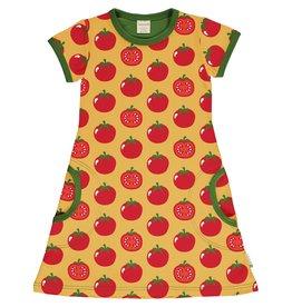 Maxomorra A-lijn tomaten kleedje