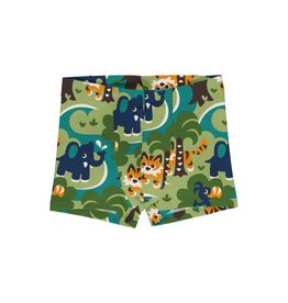 Maxomorra Boxer short met jungle print
