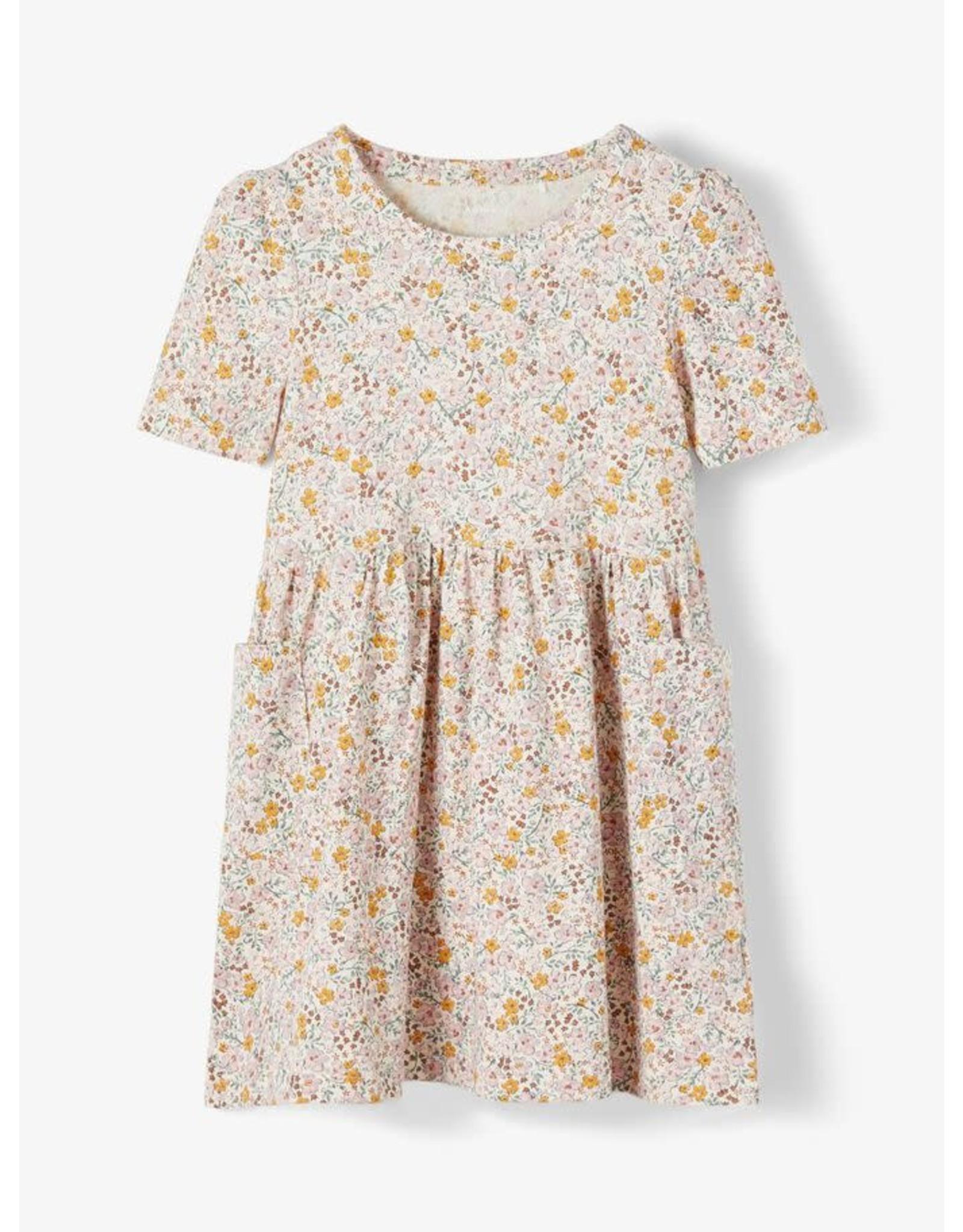 Name It Katoenen kleedje met bloemetjes