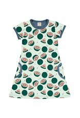 Meyadey A-lijn kleedje met watermeloen print