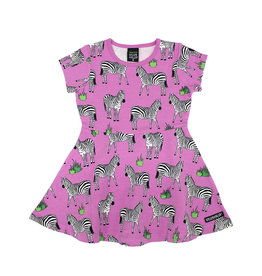 Villervalla Zebra kleedje met zwierrok