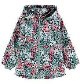 Name It Tussenseizoen jas met bloemetjes