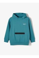 Name It Blauwe unisex hoodie