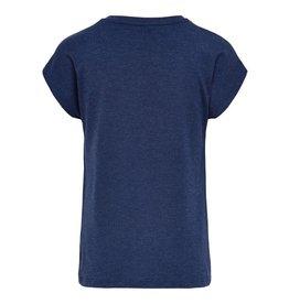 KIDS ONLY Blauwe losse t-shirt