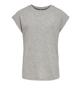 KIDS ONLY Grijze losse t-shirt