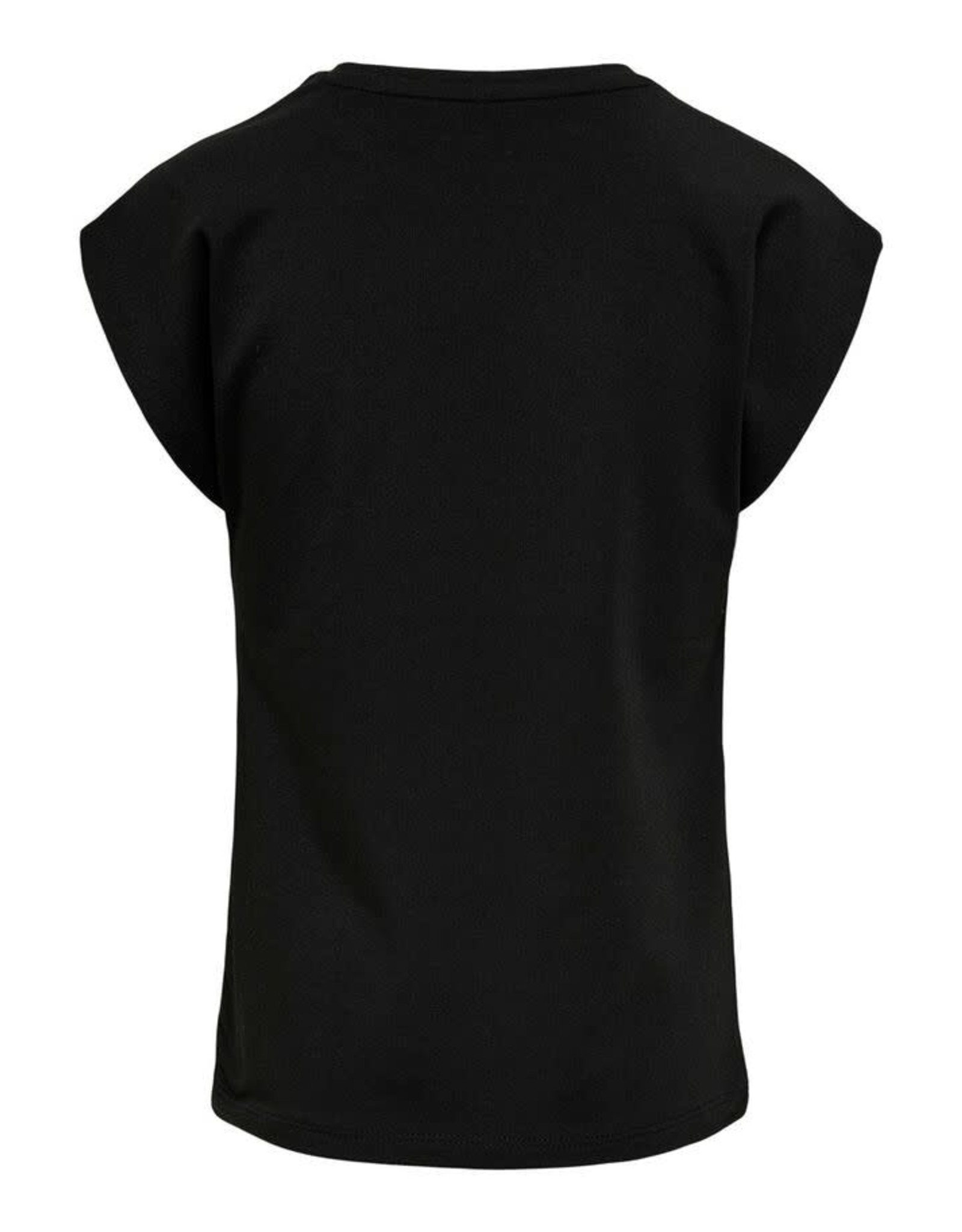 KIDS ONLY Zwarte losse t-shirt