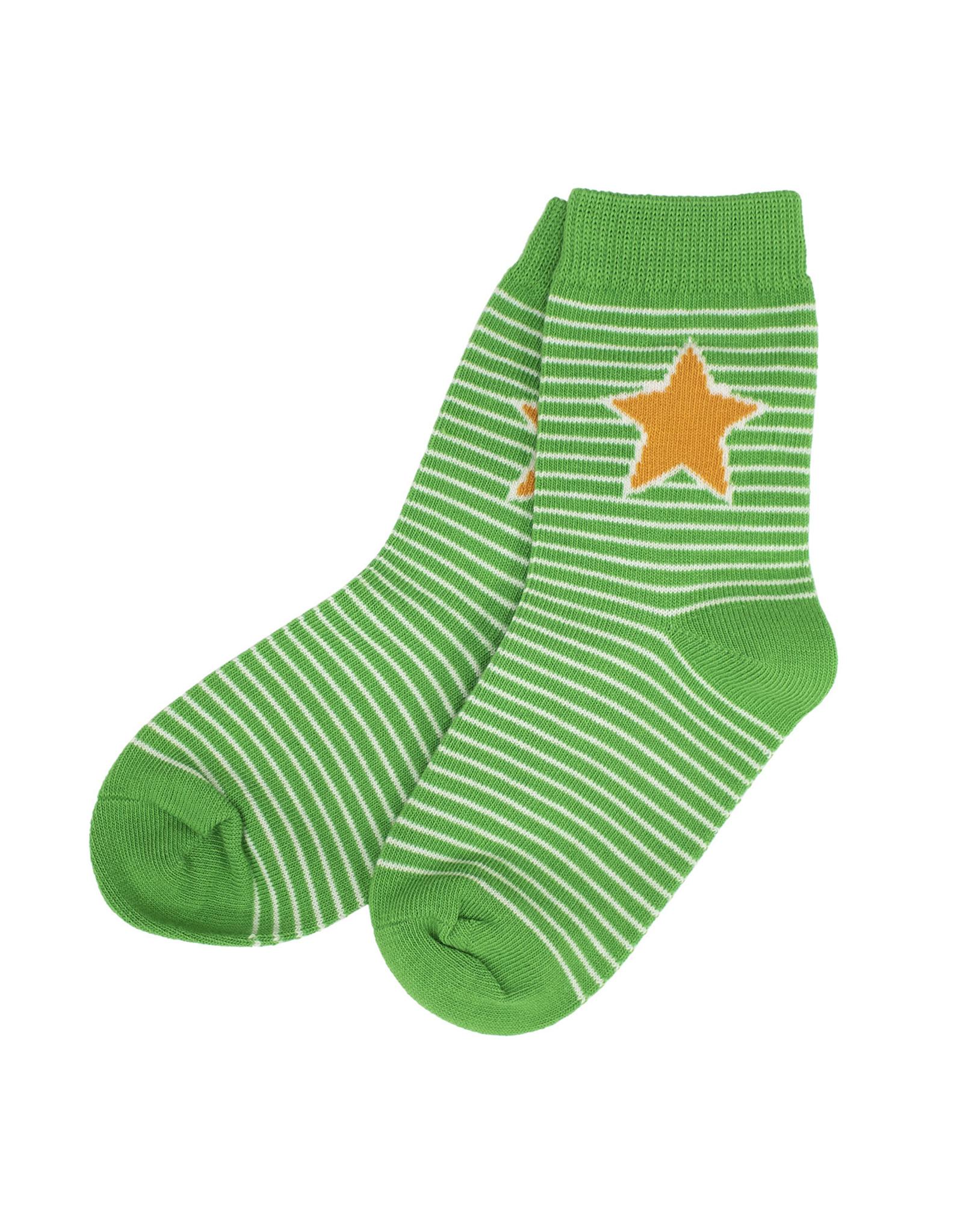 Villervalla Fel gestreepte duo pack sokken